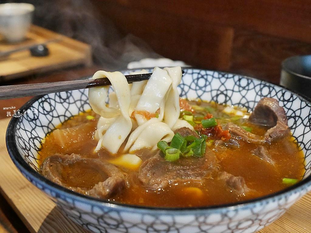 【板橋美食】門前隱味牛肉麵|熟人帶路一碗等待有緣的牛肉麵 @Maruko與美食有個約會