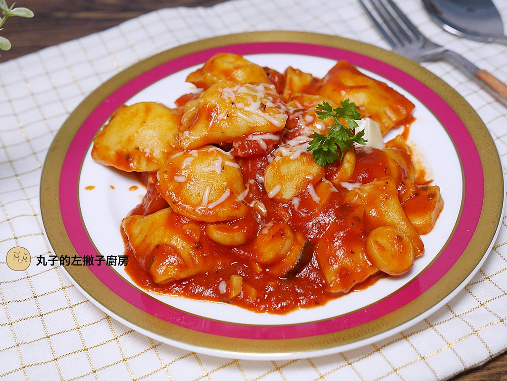 【食譜】義大利麵餃|二樣食材的手作義大利麵餃初體驗 @Maruko與美食有個約會