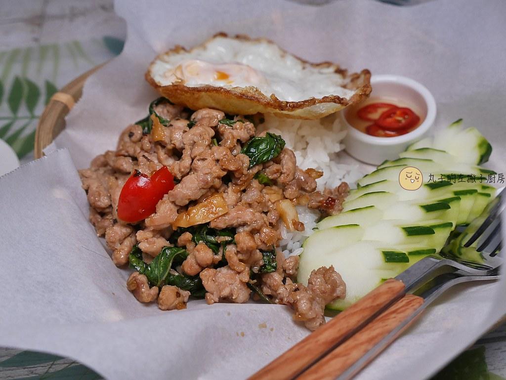 【食譜】經典泰式炒飯|泰國國民美食打拋豬肉飯這樣做更美味 @Maruko與美食有個約會