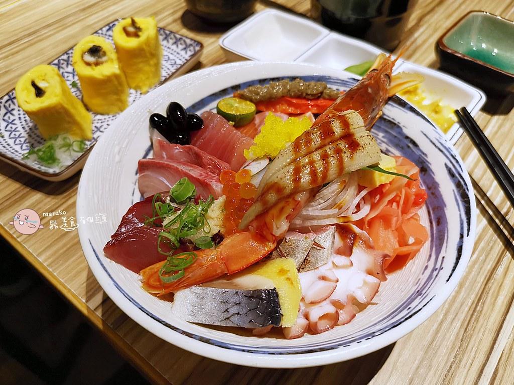 【公館美食】小原田日式料理|適合家庭聚餐的平價日式刺身燒烤丼飯 @Maruko與美食有個約會