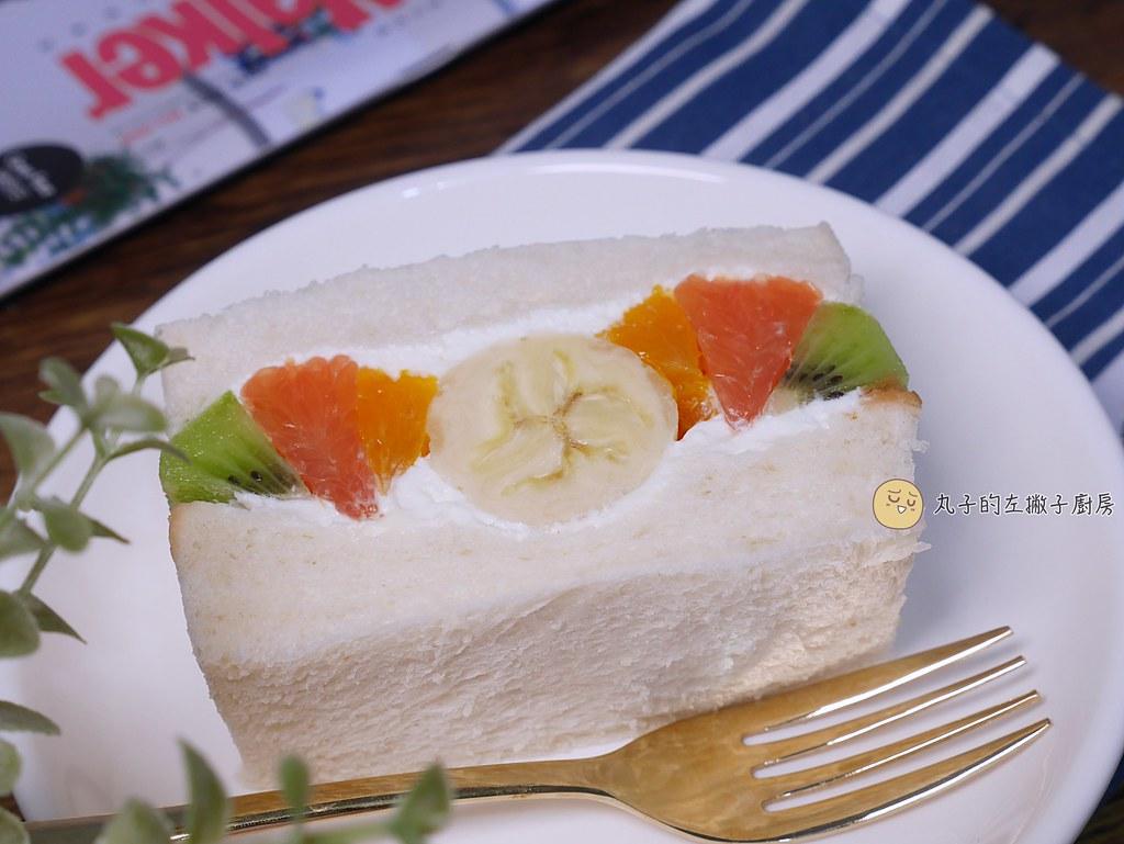 【食譜】水果鮮奶油三明治|一學就會的簡單日式三明治點心