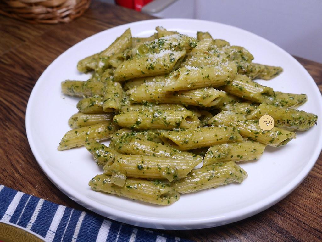 【食譜】奶油青醬筆管麵|讓青醬義大利麵吃起來更美味的祕訣 @Maruko與美食有個約會