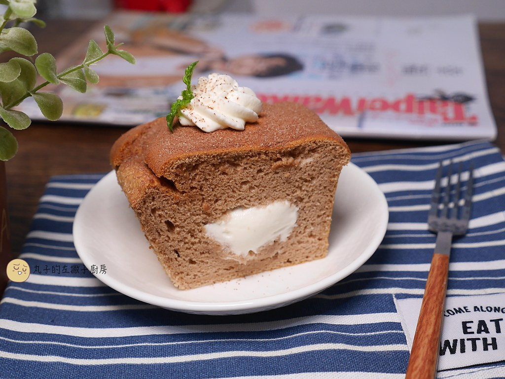 【甜點食譜】巧克力鮮奶油蛋糕|把鮮奶油放進蛋糕裡的簡單做法 @Maruko與美食有個約會