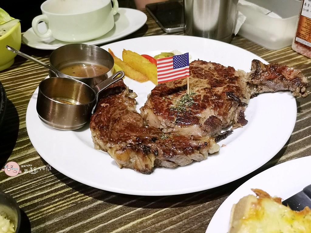 【古亭美食】水牛城美式炭烤牛排餐廳(古亭店)|服務超好附餐也相當有水準的大分量牛排餐廳 @Maruko與美食有個約會