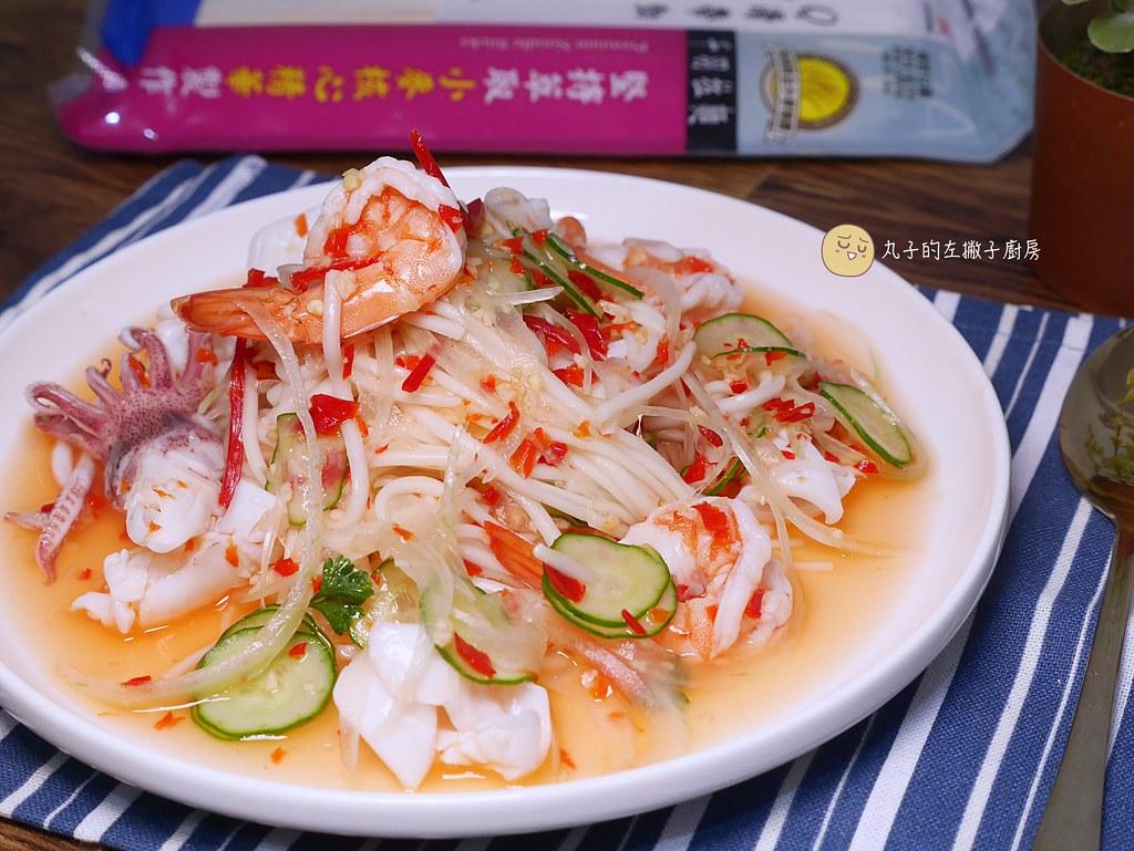 【食譜】泰式甜雞醬|涼拌海鮮冷麵與蝦餅沾醬的百搭醬汁 @Maruko與美食有個約會