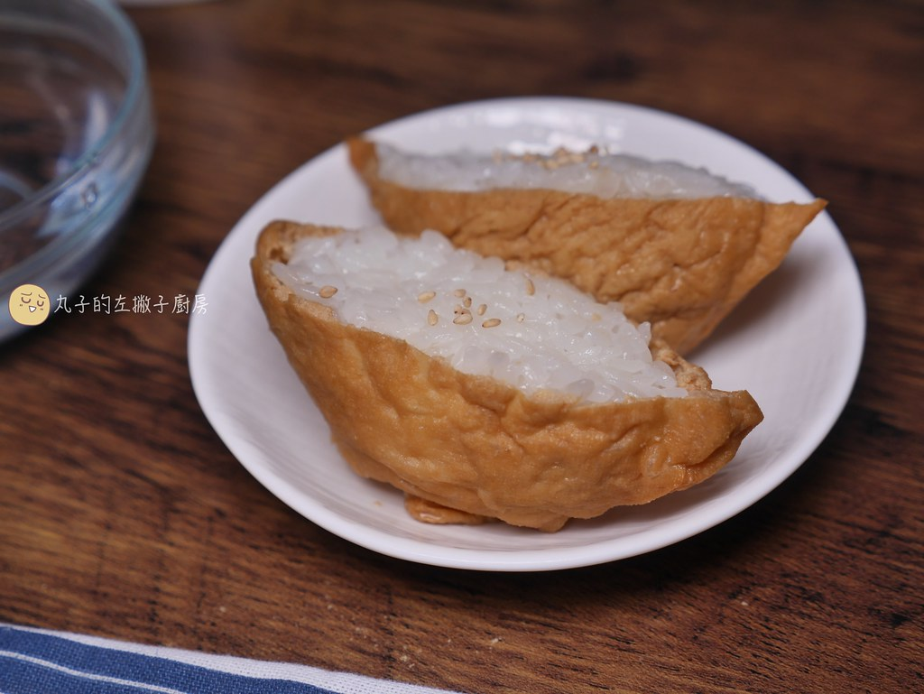 【食譜】日式豆皮壽司|做壽司飯滷豆皮原來這麼簡單