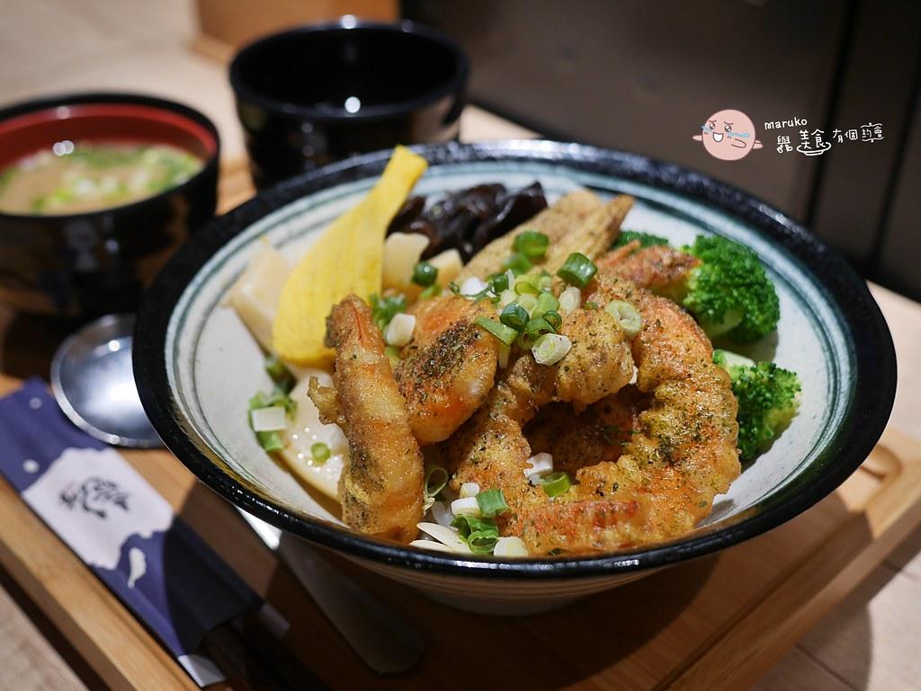 【台北美食】竜丼|把閒酥雞變成丼飯可以當主食的另類組合 @Maruko與美食有個約會