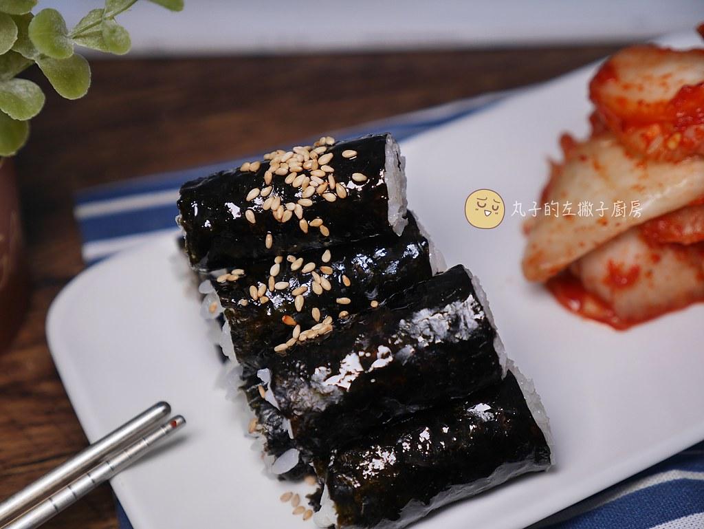 【食譜】韓式忠武飯捲|只有韓國芝麻香油和白飯就很好吃的初學者飯捲做法 @Maruko與美食有個約會