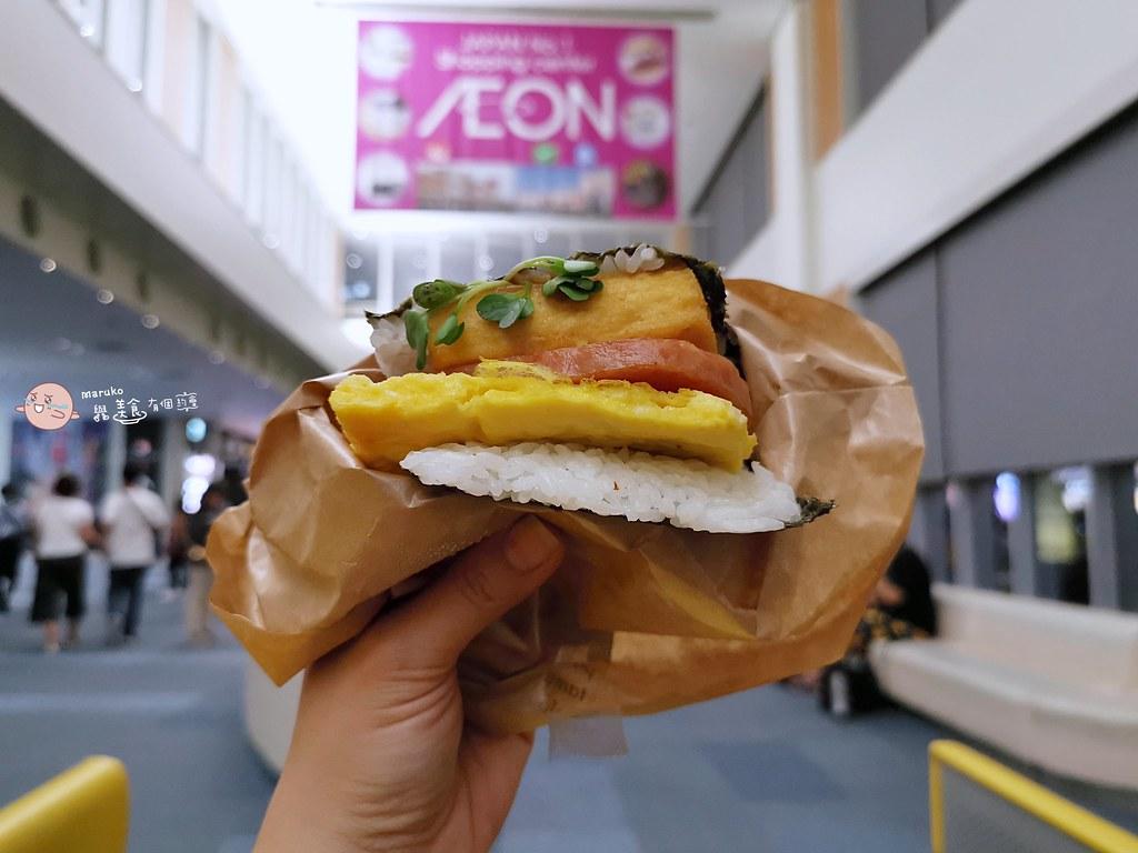 【沖繩美食】豬肉蛋飯糰本店(那霸機場店)|沖繩島豆腐飯糰是會想念的簡單的好滋味 @Maruko與美食有個約會