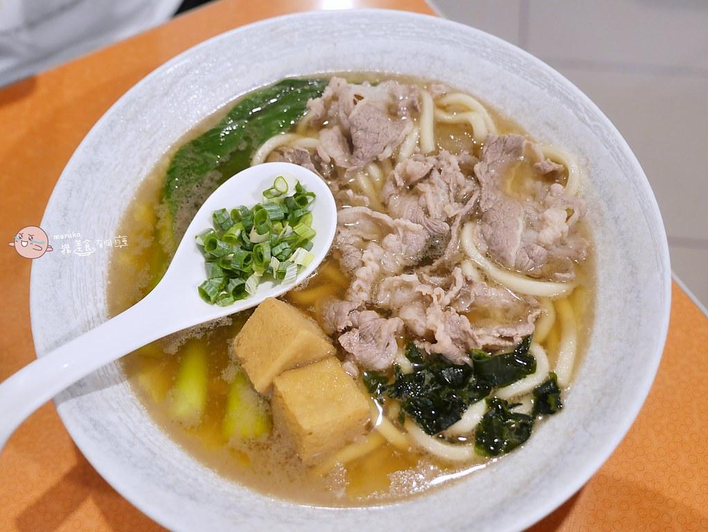 【台北美食】田舍手打麵(南門店)|自家製手打烏龍麵湯頭也是美味的關鍵 @Maruko與美食有個約會