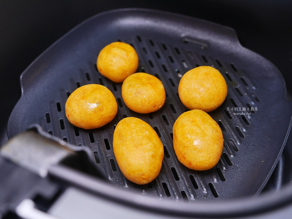 【食譜】地瓜球|用氣炸鍋做地瓜球乾爽不油膩