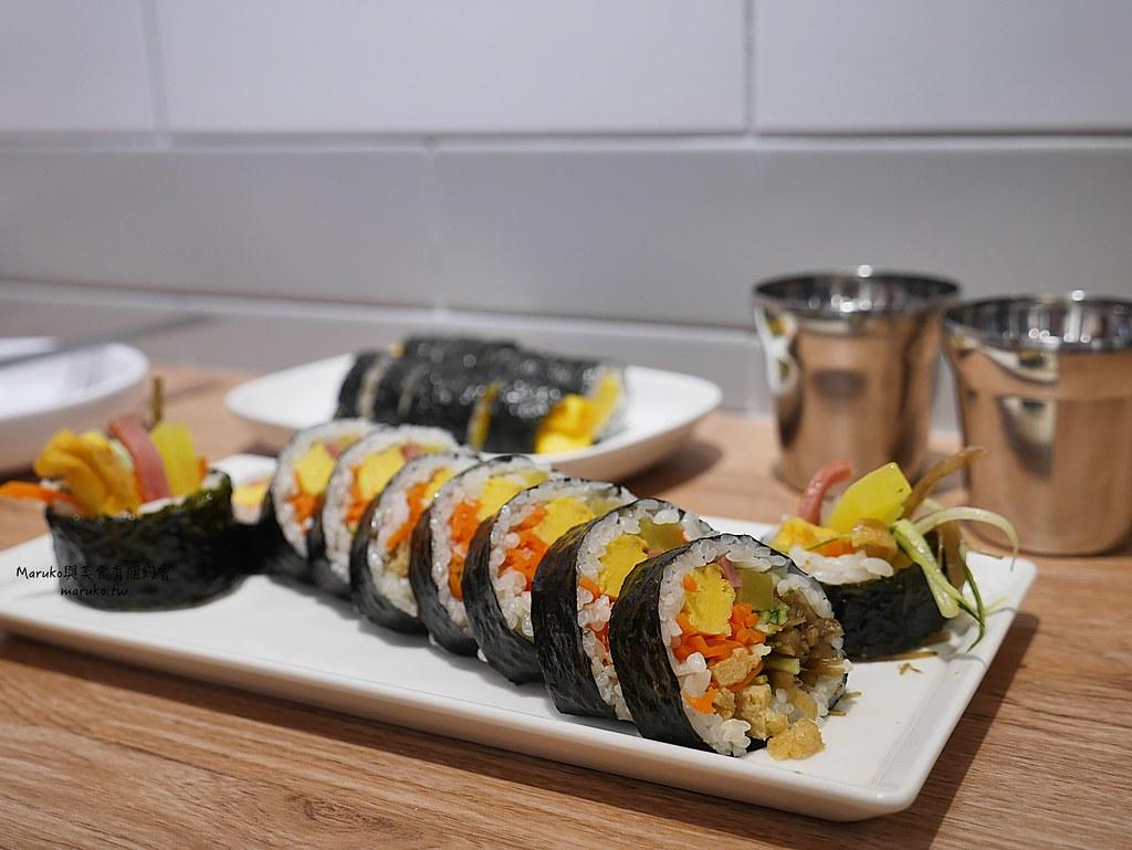 【台北美食】yumsem 宴先韓式紫菜包飯.얌샘김밥-台北東區店|來自韓國有200家連鎖店人氣紫菜包飯(完整菜單) @Maruko與美食有個約會