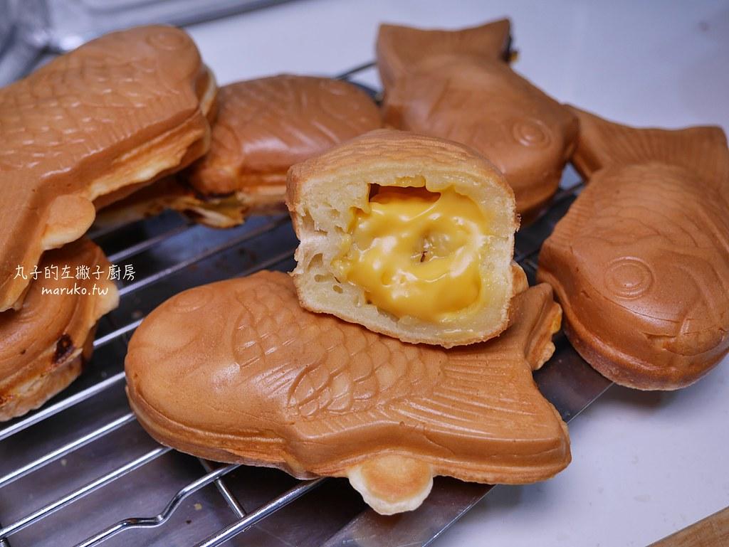 【食譜】vitantonio 鯛魚燒烤盤|不翻機也能烤出漂亮的鯛魚燒做法分享 @Maruko與美食有個約會