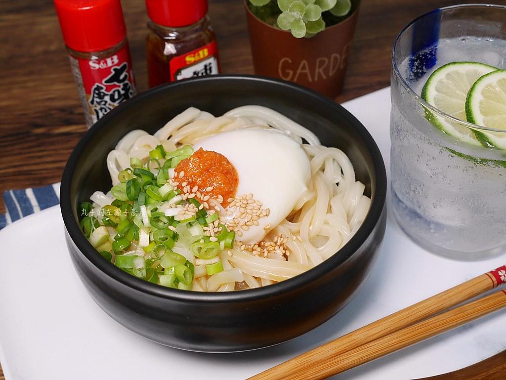 【食譜】明太子烏龍拌麵|日式烏龍麵店的拌麵吃法 @Maruko與美食有個約會