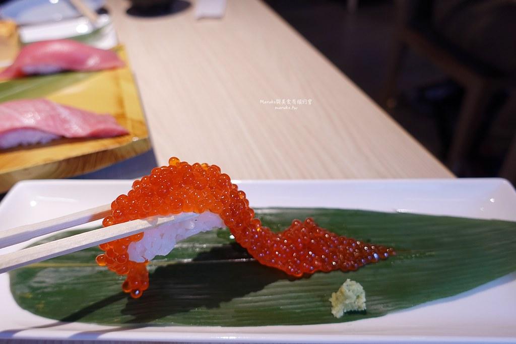 【台北】壽司美登利(台北大安店)|來自東京人氣壽司自選握壽司大口滿足更豐富 @Maruko與美食有個約會