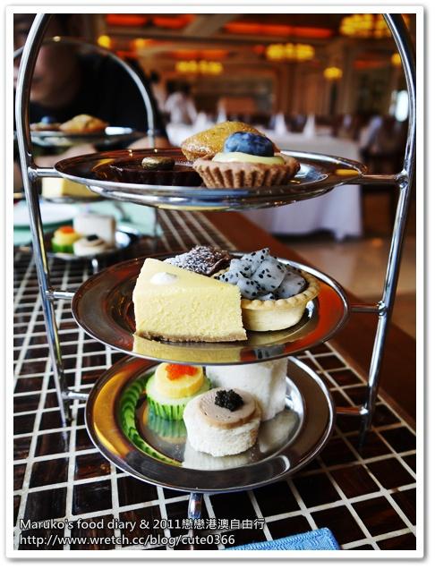 【澳門美食】澳門萊斯酒店怡景餐廳|超值英式下午茶 @Maruko與美食有個約會