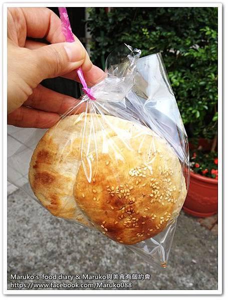 【彰化美食】小吃二連發北平香酥燒餅|北門口肉圓 @Maruko與美食有個約會