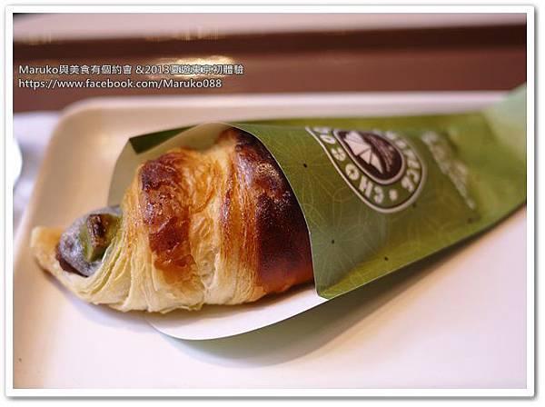 【東京美食】CHOCRO酥脆牛角麵包|サンマルクカフェ 赤坂外堀通り店 @Maruko與美食有個約會