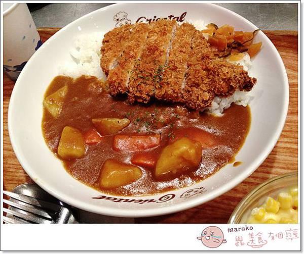 【台北美食|大安】奧里安達魯咖哩|來自名古屋的日式咖哩 (台北遠企店)