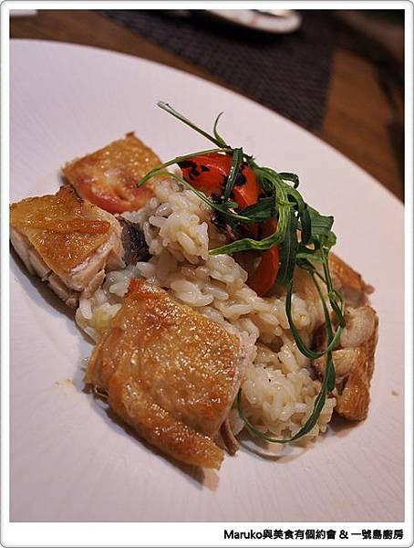 【台北大安區】一號島廚房|當中式麻油雞遇見義式燉飯 @Maruko與美食有個約會
