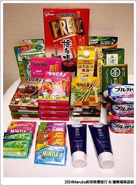 【大阪旅遊】道頓堀商店街|超誇張招牌隨拍~激安的殿堂繼續買 @Maruko與美食有個約會