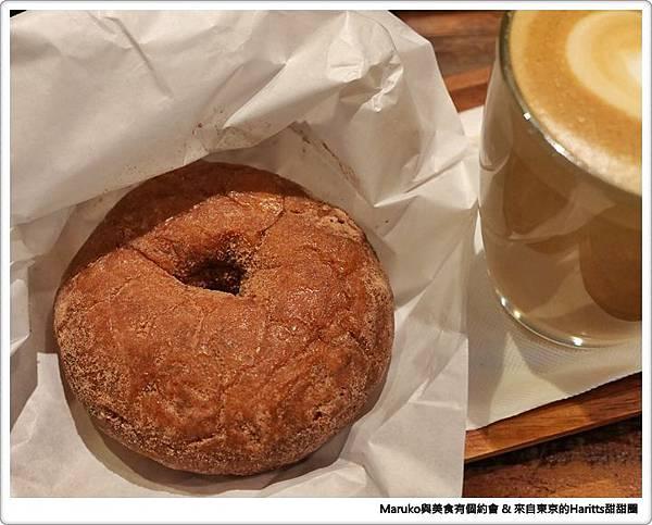 【台北中山區】Haritts Donuts|來自東京的魅力甜甜圈Haritts Donuts&Coffee @Maruko與美食有個約會
