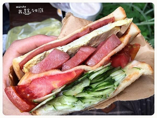 【台北中正】阿姐的店碳烤三明治 相見恨晚的爆餡三明治·台北光華商場商圈